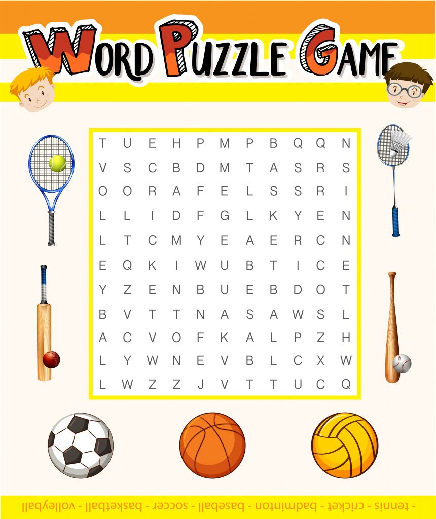 Online Word Game-Learning