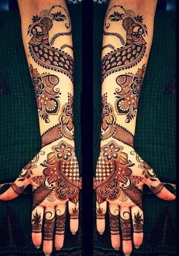 Arabic Mehendi Designs for brides