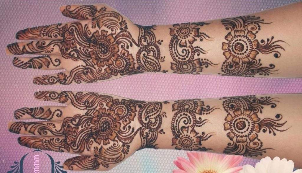 Bangle design bridal mehendi
