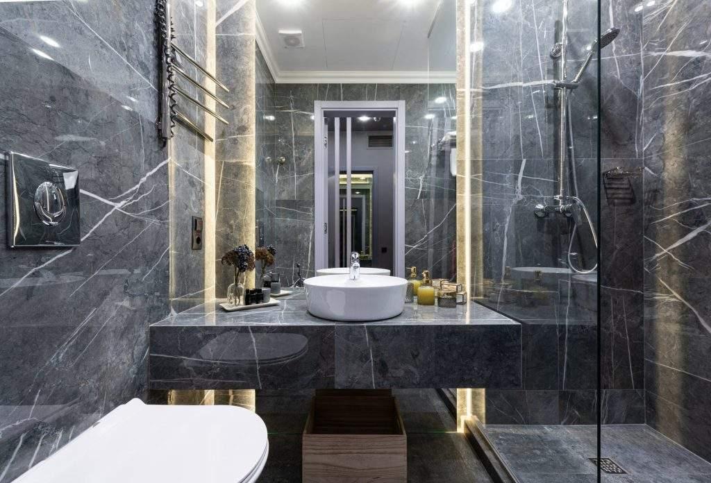 modern shower head
