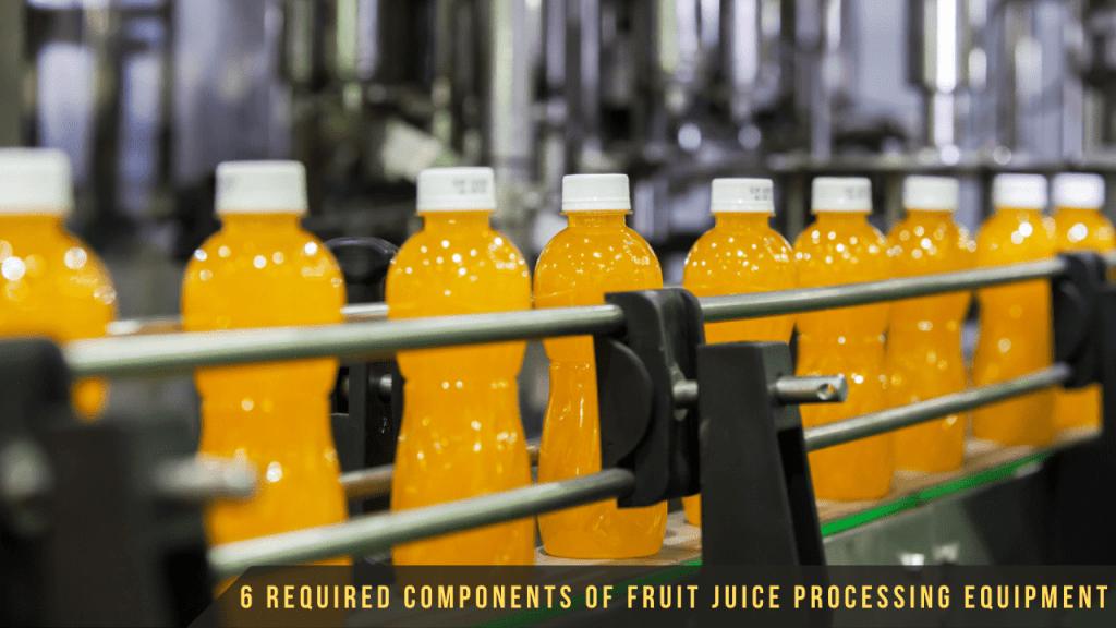 Fruit Juice Processing Equipment