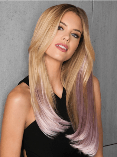 User friendly and convenient magic clip in hair extensions